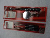 Craftsman Automotive Pick Hook & Inspection Mirror Set, USA - p/n 41634/47095