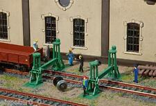 spindelhebeböcke (4 Pieza ), Faller Kit Construcción Miniaturas H0 (1:87 ),