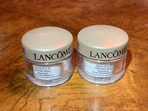 2 Lancome Absolue Premium Replenishing Rejuvenating Day Cream SPF 15 Sunscreen !