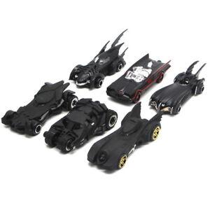 Set of 6 Batman Batmobile Model Car Plastic Gift Toy Vehicle Kids Collection