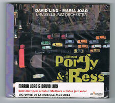 DAVID LINX & MARIA JOAO - A DIFFERENT PORGY & ANOTHER BESS - 2011 - NEUF NEW NEU