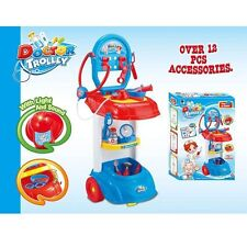 Doctor Trolley Play Set for Children Safe Material Health Safe Nurse Learn #PS70