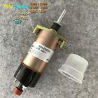 12V Fuel Shutoff Solenoid 155-4654 for Caterpillar CAT3306 3304 E330 E330B E330C