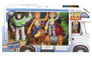 Disney Pixar Toy Story 4 Rv Friends 6pk New Boxed Uk Seller GDL54 🇬🇧GIFT 🎁🎁