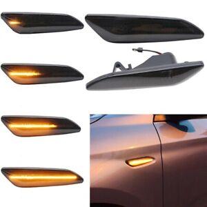 2X Dynamic LED Side Marker Blinker Turn Siganl Light For Alfa Remeo 147 156 Tipo