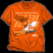 "Braniff B-747 ""Big Orange"" T-Shirt size XXL.."