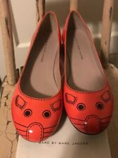 Marc By Marc Jacobs Salmon Patent Leather Mouse Flats Size 40 Eu 10 Us NIB $250