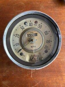 Morris Minor Car Auto Parts Speedos Headlamps Window Steering Wheel Vintage