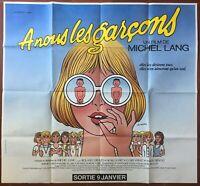 Plakat A We Les Jungs Michel Lang Roland Giraud Leo Kouper 93x101cm