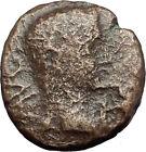 AUGUSTUS 27BC Philippi Macedonia PRIESTS Founding City Oxen Roman Coin i60529