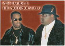 PUFF DADDY et THE NOTORIOUS B.I.G. carte postale n° SPC 3202
