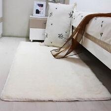 Fashion Home Bedroom Floor Dining Room Mat Fluffy Anti-skid Shaggy Area Rug Yoga