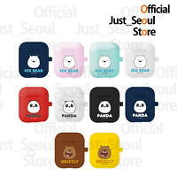 Official We Bare Bears Soft Jelly Face Airpods Case Cover+Free Tracking Number