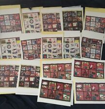 Assorted Patchwork Art Print Blank Note Cards