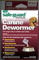 Merck Safe-Guard Canine Dewormer for 40-lb+ Dogs -- 22.2% Fenbendazole