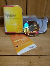 Microsoft Office Project Standard 2007 Academic Edition Control Project Schedule