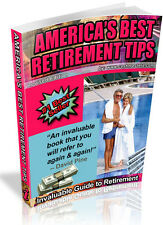 AMERICA'S BEST RETIREMENT TIPS PDF EBOOK FREE SHIPPING RESALE RIGHTS