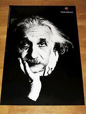 Apple Think Different póster-Albert Einstein 24 x 36 by Steve Jobs 61 x 91 cm