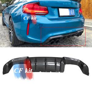 For 2016-2020 BMW F87 M2 Coupe Carbon Fiber Car Rear Bumper Diffuser Lip
