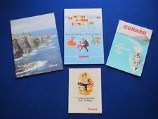 Cunard - R.M.S Sylvania Menu Card, Programmes, Photo  1962-1968
