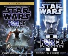Star Wars FORCE UNLEASHED DUOLOGY by Sean Williams PAPERBACK Set of Books 1-2