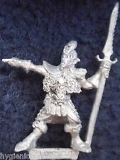 1987 DARK ELF 1102 01 C09 Leader 1 citadelle elfes armée guerrier WARHAMMER GW drow