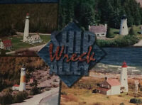 Ship Wreck Alley Thunder Bay Island Lighthouse Great Lakes Unposted Post Card