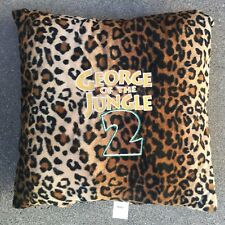 """George Of The Jungle 2 Promotional Lepoard Throw Pillow 16"""" X 16"""""""