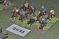 25mm renaissance / generic - 8 cavalry - cav (21133)