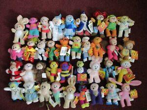 Bulk Lot of 37 Tiny Beanie Kids ( with tags )