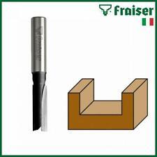 Fräser für Oberfräse Nutfräser Holzfraeser HM Schaftfräser 8 12mm Schaft FRAISER