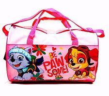 Pink Paw Patrol Deportes Bolso Bolsa de deporte escolar bolsa bolsa de fin de semana Totalmente Nuevo