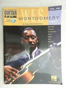 Wes Montgomery Guitar Play-Along with Audio Access Vol 159 PB Hal Leonard VG+