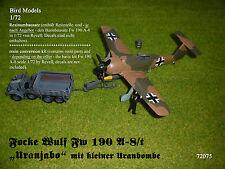 "Focke Wulf Fw 190 A-8/t ""Uranjabo""   1/72 Bird Models Mischkit / mixed kit"