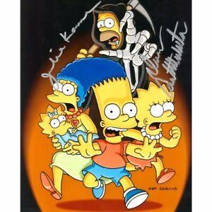 "The Simpsons Julie Kavner & Dan Castellaneta Hand Signed 8x10"" Photo Autograph"