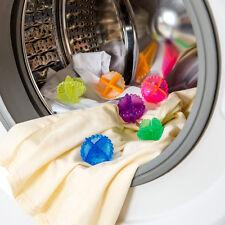4Pcs/Pack Reusable Laundry Wash Machine Tumble Dryer Plastic Cleaning Balls