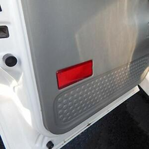 Premium Door Reflector Interior Red Compatible with Ford 1999-2007 SuperDuty ...
