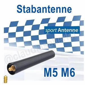 Sport Antenne M5 M6 Kurzstab AM/FM passend Audi A1 (8X1/8XA) 09/2010->~~