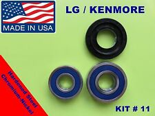 FRONT LOAD WASHER,2 TUB BEARINGS AND SEAL, LG,Kenmore,  KIT # 11 (MDS62058301)