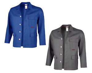QUALITEX Robust Schweißerschutz Jacke Arbeitsjacke in zwei Farben Gr. 42-110 NEU