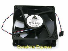 New OEM Dell Y4574 Delta Cooling Fan AFC1212DE 120x120x38mm 12v 1.60A 5-pin
