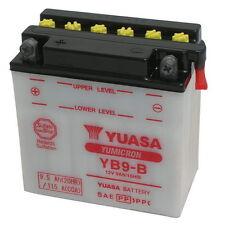batería original Yuasa YB9-B + Ácido Aprilia Sport City Uno 50 2008/2010