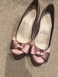 Mother of the Bride Shoes Size 6 And Clutch Bag Pink