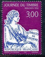 STAMP / TIMBRE FRANCE NEUF N° 3052 ** JOURNEE DU TIMBRE / MOUCHON / DE CARNET