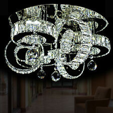 LED Deckenleuchte Deckenlampe 50cm Kristall Kronleuchter Lüster Licht Wohnzimmer
