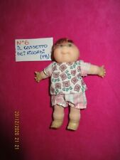 CABBAGE PATCH : DOLL, BAMBOLA MINI N 6KIDS,COMP.BIANCO ROSA ,VINTAGE, ANNI '90