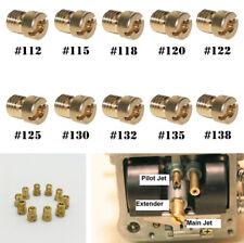 10x 112/115/118/120/122/125/130/132/135/138 Motorcycle Carburetor Main Jet Kit