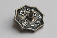 Hanukkah Metal DREiDEL Iron Small Hanuka Sevivon Spinning Top