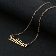 Personalized Name Necklace Custom Jewelry Style Font Gift Women Gold Silver Love