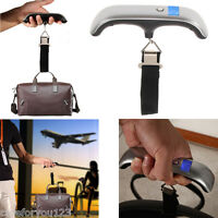 50kg/10g Portable LCD Digital Hanging Luggage Scale Travel Electronic Weight New